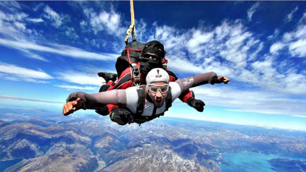Different types of Skydiving for Healthy Heart and Mind